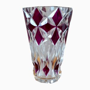 Colored Glass Vase, 1960s