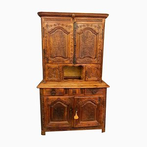 Solid Pearwood Sideboard, Early 1700s