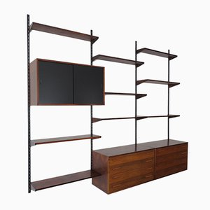 Danish Rosewood Shelving Unit by Kai Kristiansen for FM Møbler, 1960s