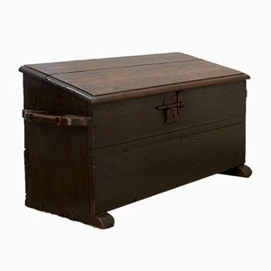 Antique Spanish Linen or Dowry Chest, 1800s