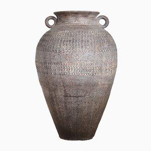 Große Mediterrane Steingut Vase aus dem 20. Jahrhundert, 1920er