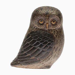 Gustavsberg Stoneware Owl by Lisa Larson