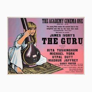 Britisch The Guru Filmplakat von Peter Strausfeld, 1969