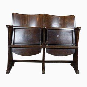 Vintage Cinema Folding Chair by TON, 1950s