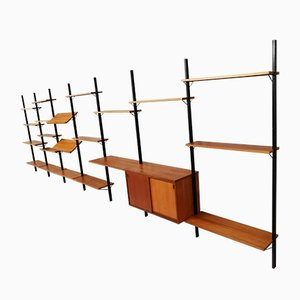 Vintage Scandinavian Shelf System by Olof Pira for String