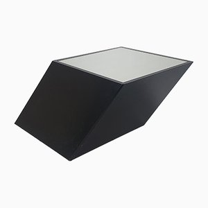 Postmodern Optical Illusion Coffee Table, 1970s