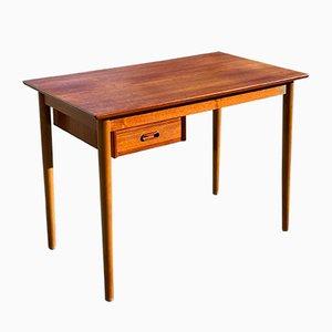 Danish Teak Desk by Arne Vodder for Spøttrup, 1960s