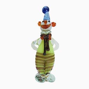Murano Glass Clown, 1960s
