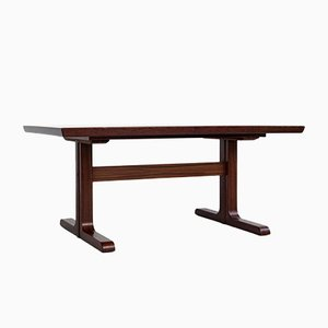Mid-Century Danish Rectangular Dining Table in Rosewood with 2 Extensions, 1960s