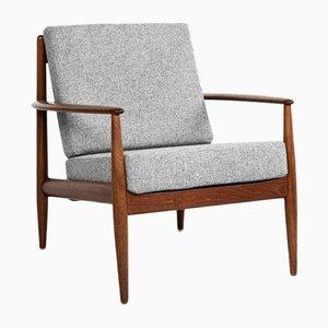 Mid-Century Danish Easy Chair in Teak by Grete Jalk for France & Søn, 1960s