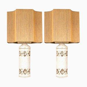 Bitossi Lampen von Bergboms mit Maßstäben von Rene Houben, 2er Set