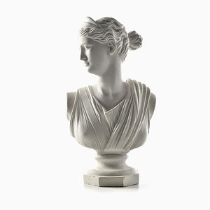 Busto in Artemis in gesso