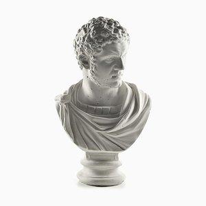 Büste aus Caracalla in Gips