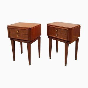Nightstands in French Directoire Style, Set of 2