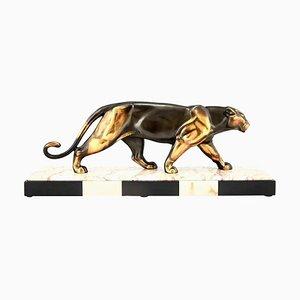Animalier Skulptur aus Bronze von Alexander Ouline