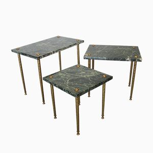 Regency Nesting Tables from Maison Jansen, Set of 3