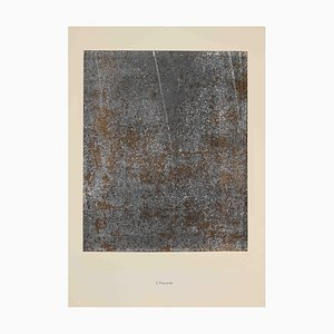 Jean Dubuffet - Insecurity - Lithograph - 1959