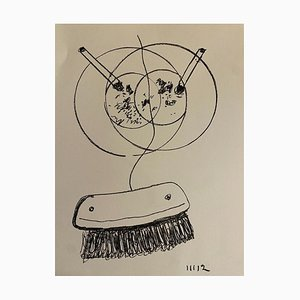 Man Ray - Movement from Fire - Lithograph - 1964