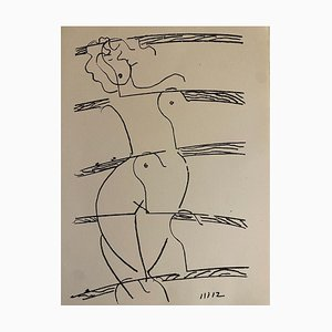Man Ray - Broken Love - Lithograph - 1964