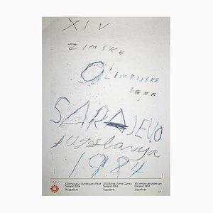 Poster sconosciuto - Sarajevo Winter Olympic - 1984