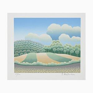 Ivan Rabuzin - Sweet Hills - Lithografie - 1990er
