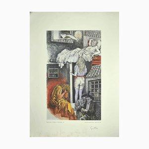 Renato Guttuso - Allegories: The Morning Visit Poster - 1979