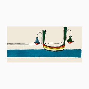 Affiche Maurilio Catalano - Bells - Multicolore -1980s