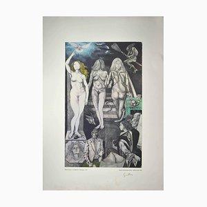 Renato Guttuso - Allegories: Lies - 1979