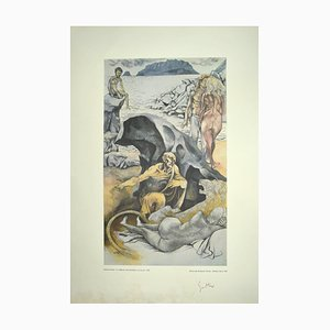 Renato Guttuso - Allegories: St. Jerome - 1979