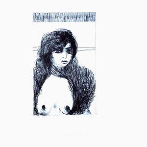 Carlo Marcantonio - Nude - 8 - Lithograph - 1970s