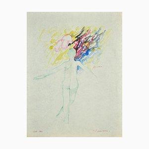 Danilo Bergamo - The Balance - Watercolor - 1964