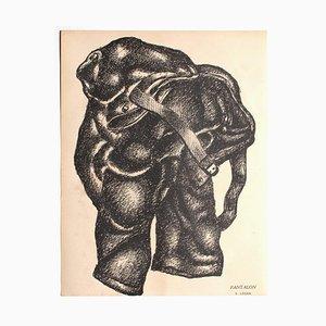 Fernand Léger, Composition, Lithograph on Paper, 1925