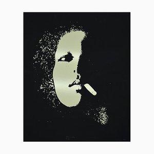 Giacomo Porzano, Portrait, Screen Print, 1974