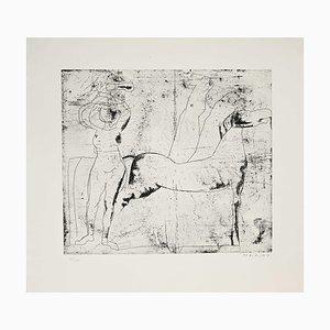 Marino Marini, Bottom, Etching, 1969