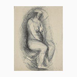 Marino Marini, Figur, Lithographie, 1944