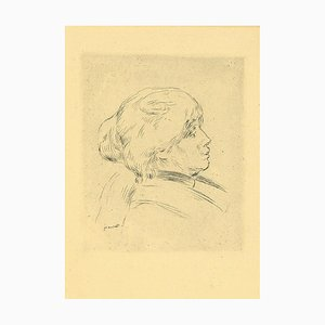 Pierre-Auguste Renoir, Berthe Morisot, Etching and Drypoint, Early 1900