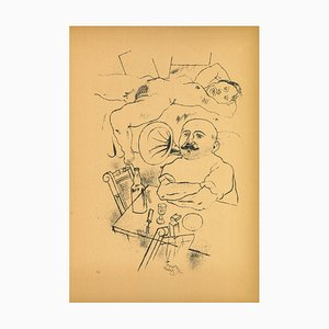 George Grosz, Dream, Offset und Lithografie, 1923