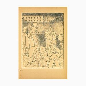 George Grosz, Ausführung, Offset und Lithographie, 1923