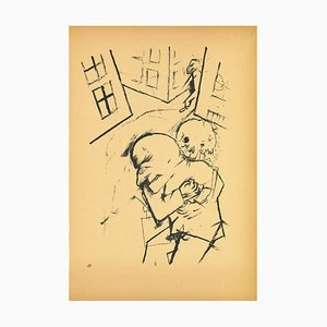 George Grosz, The Hug, Lithograph, 1923