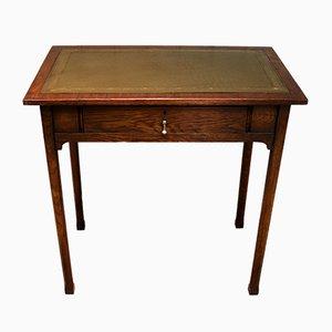 Kleiner Schreibtisch aus edwardianischem Eichenholz