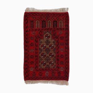 Geometric Light Brown Carpet with Border and Diamonds