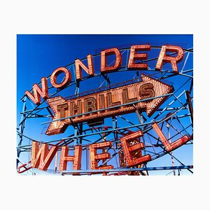 Thrills, Coney Island, New York - Architectural Pop Art Color Photography, 2013