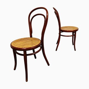 Antique Thonet Dining Chairs, 1950s, Set of 2