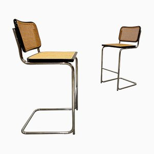 Bar Stools by Marcel Breuer, 1970s, Set of 2