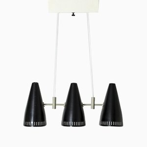 Three-Shade Ceiling Lamp by Eje Ahlgren