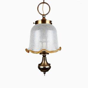 Lampe à Suspension Vintage en Verre de Murano, Italie, 1980s