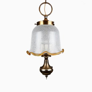 Vintage Murano Glass Pendant Lamp, Italy, 1980s