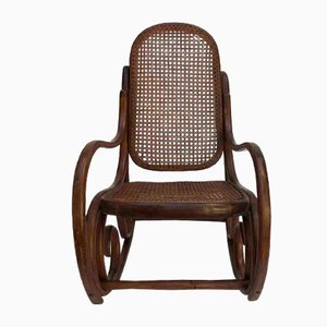 Thonet Style Children's Rocking Chair, 1960s
