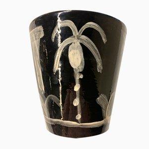 Palmiers sur Noir par Javier Mariscal