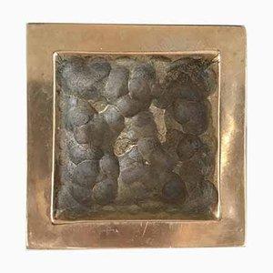 Bronze Aschenbecher von Monique Gerber, 1970er